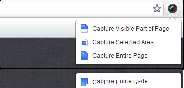 Capturar pagina web con Awesome Screenshot