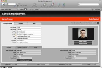 Gestión de Contactos con FileMaker Pro