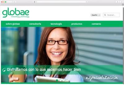Web Corporativa Globae.es 2014